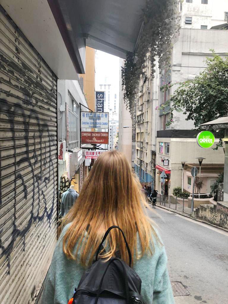 Alida i Hongkong del 1
