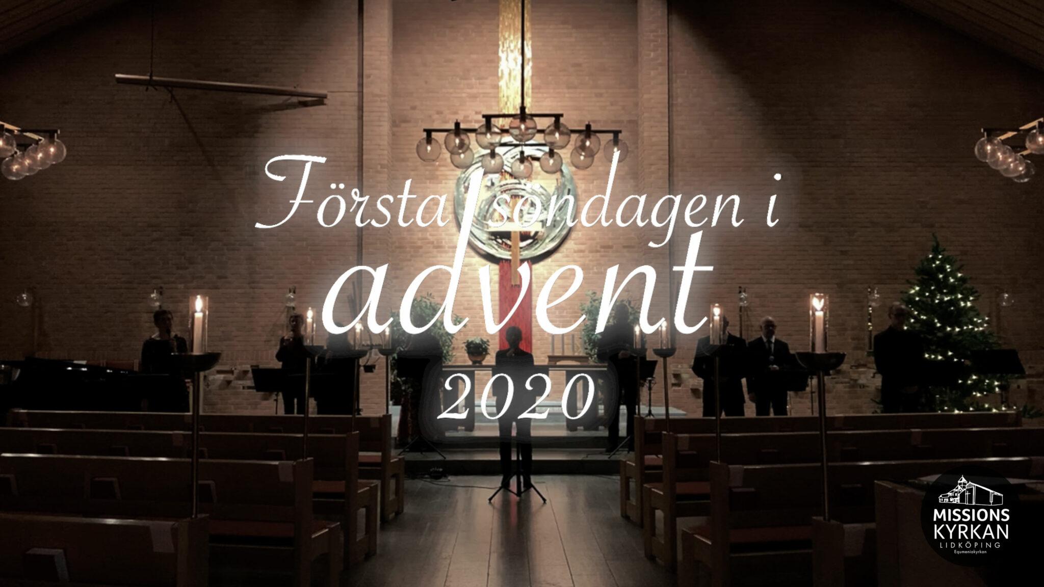Första advent i Missionskyrkan