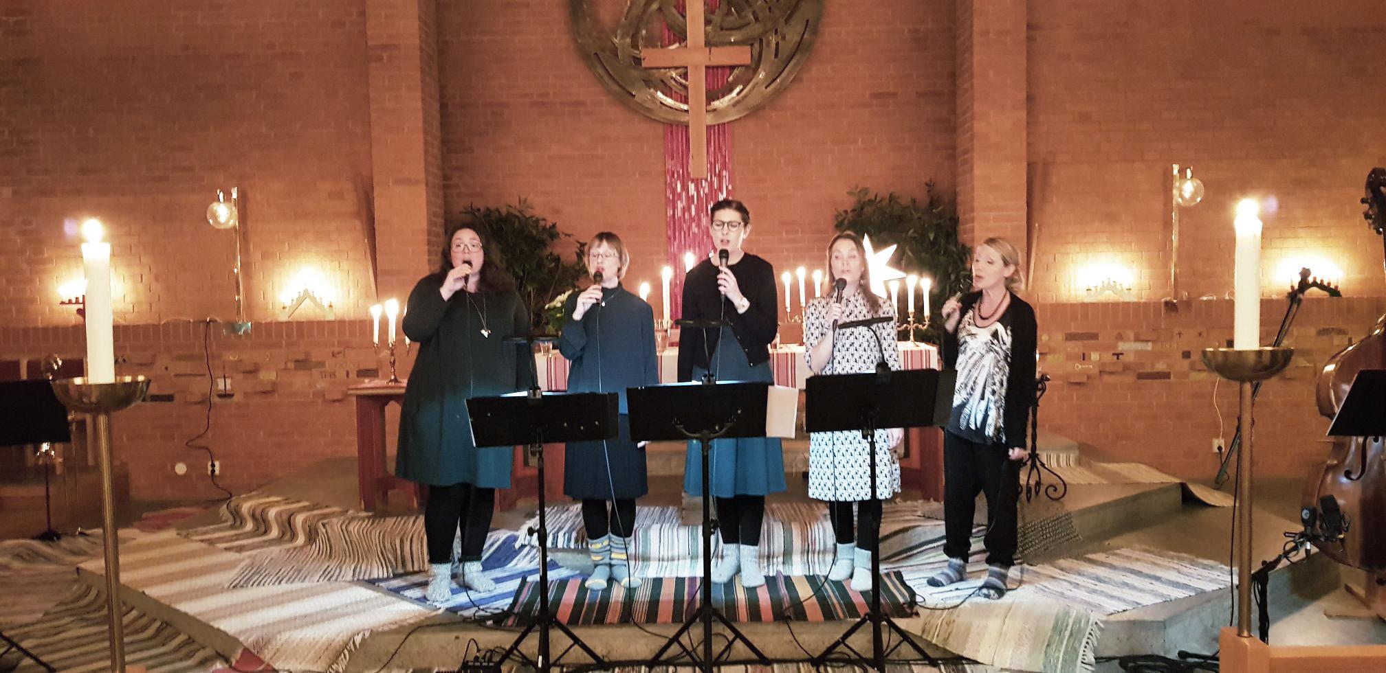 En kväll med vokalensemblen Iris den 19 december