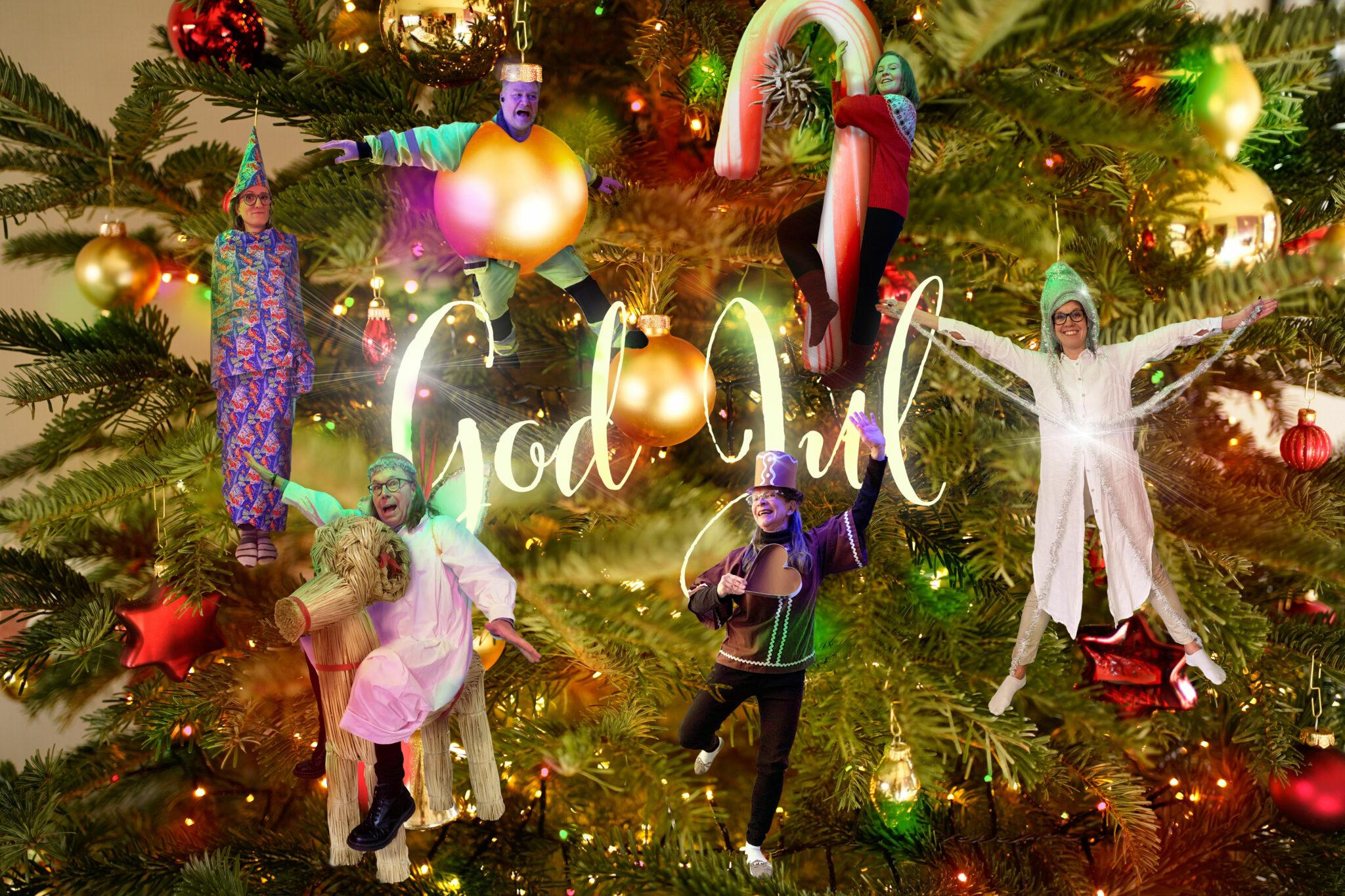 God Jul önskar de anställda!