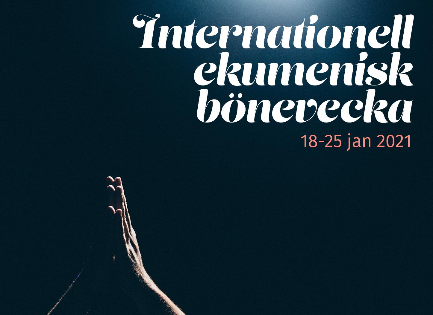 Internationell ekumenisk bönevecka 2021