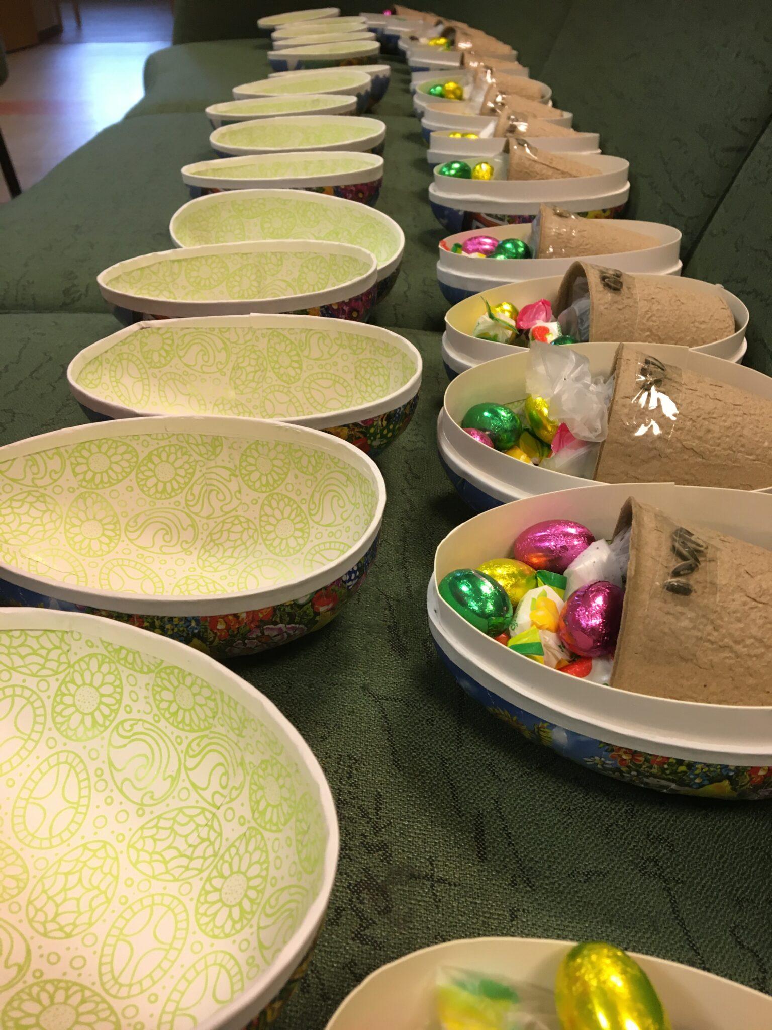 Barnen letade ägg